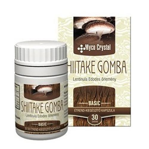 Ciuperca Shiitake 30 capsule