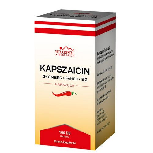 Capsaicina 100 caps