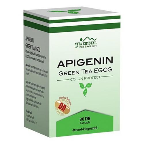 Apigenin Ceai Verde EGCG 30 cps