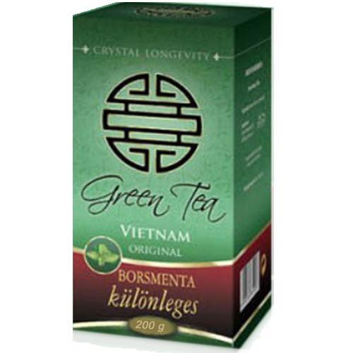 Ceai verde cu Menta piperita 200g