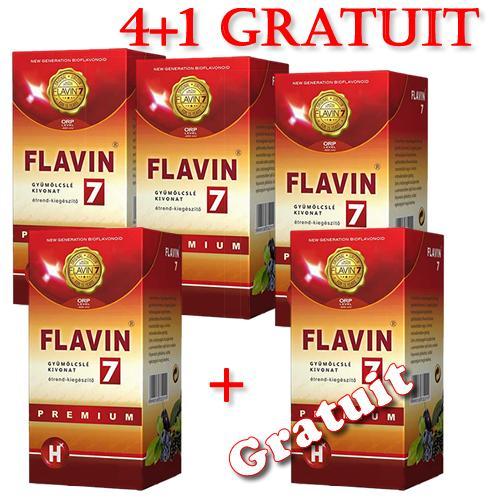 Flavin7 Premium 4x500 ml+ 1 buc cadou
